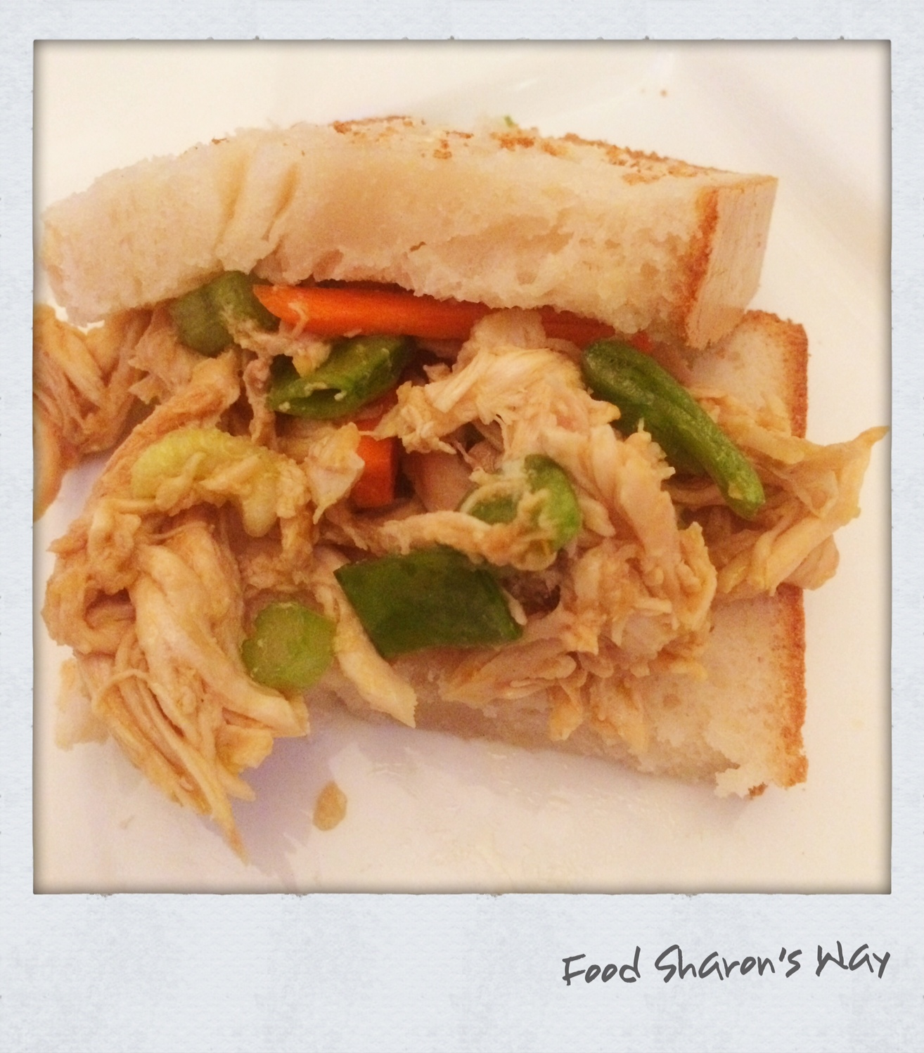 Asian Chicken Salad Sandwich – Sharon's Healthy Kitchen